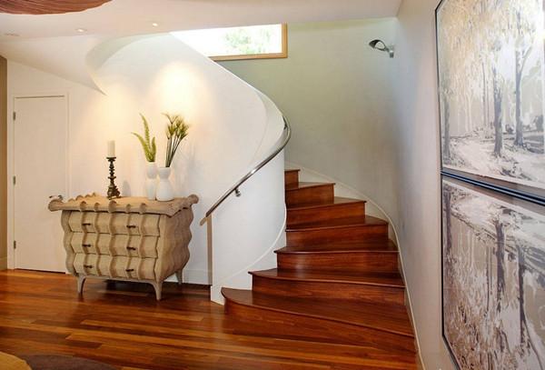 合肥室内设计培训学校解析复式房楼梯有哪些种类和注意事项